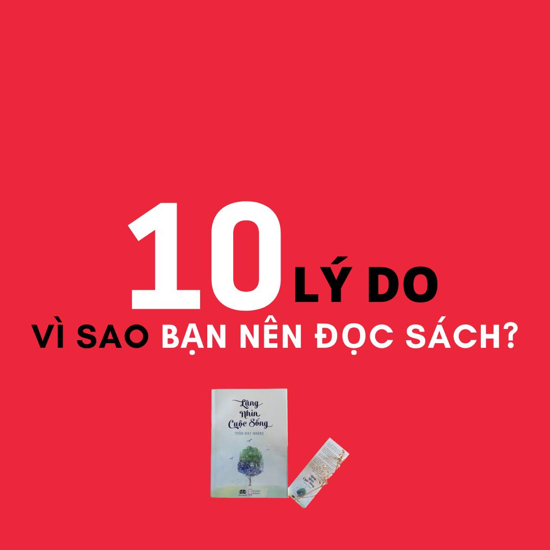 10 lý do đọc sách