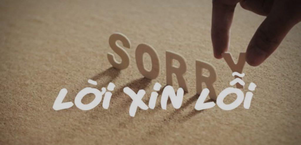 xin lỗi chính mình, ta nợ bản thân một lời xin lỗi.